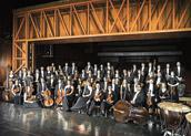 """Orquestra Gulbenkian"" actua no grande auditório do Centro Cultural Cultural"