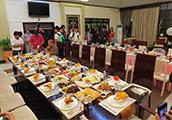 Jornalistas, responsáveis da Top Rank e da Sands China jantaram na casa de Pacquiao