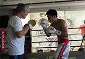 Pugilista de Macau treinou com Freddie Roach