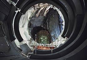 1.2- Câmara de vácuo grande para simulação térmica do ambiente espacial, ESA-ESTEC, Noordwijk, Países Baixos