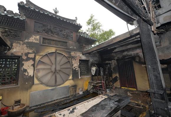 Incêndio deflagrou no templo de A-Má a 10 de Fevereiro