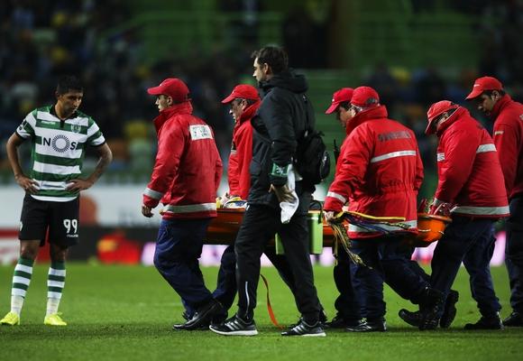 Sporting perdeu fulgor após a lesão de Adrien