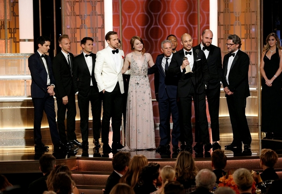 """""""La La Land"""" conquistou sete prémios"""