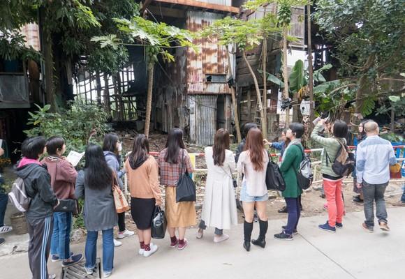 Visitas atraíram mais de 70 pessoas a Lai Chi Vun no sábado
