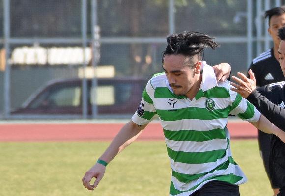 Iuri Capelo marcou um dos golos da vitória leonina
