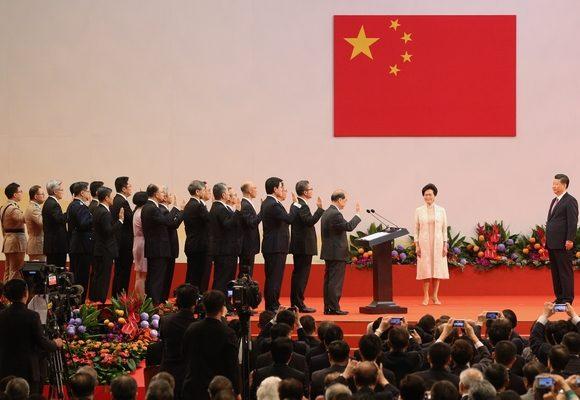 Presidente chinês presidiu à tomada de posse do novo Executivo da RAEHK
