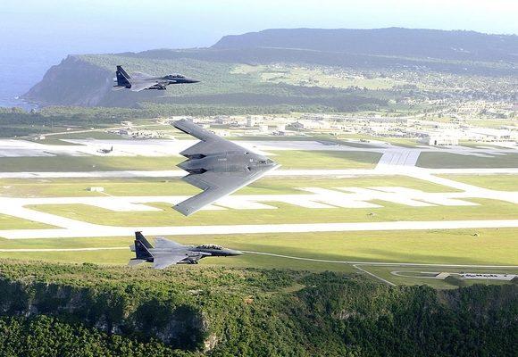 EUA realizam frequentemente manobras militares em Guam