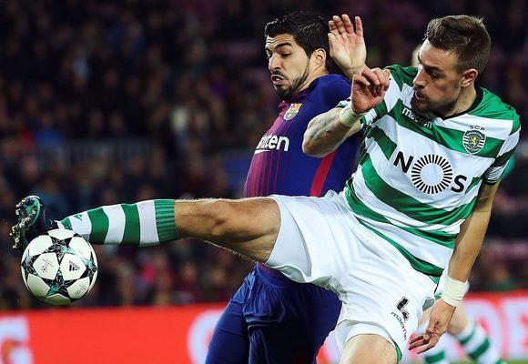 Sporting resistiu 59 minutos em Barcelona