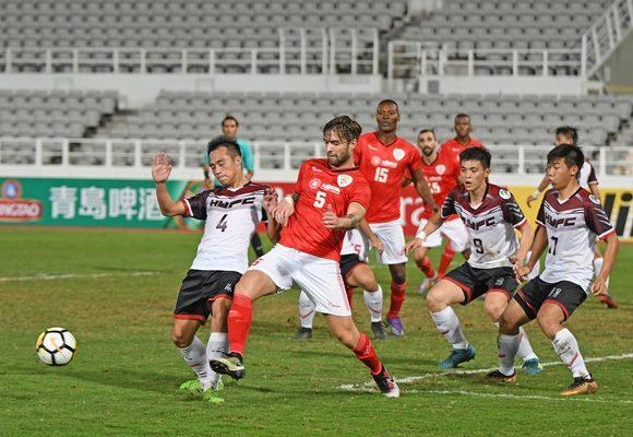 Benfica estreou-se na fase de grupos com uma vitória frente ao Hang Yuen