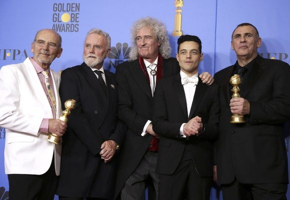 """""""Bohemian Rhapsody"""" arrecadou dois dos prémios mais ambicionados"""